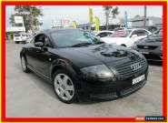 2000 Audi TT MY99 Black Manual 5sp M Coupe for Sale