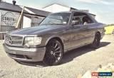 Classic Mercedes 500SEC for Sale