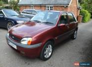 2000 FORD FIESTA ZETEC RED 1.2 12 MONTHS MOT 56000 MILES for Sale