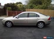 2003 FORD MONDEO GHIA TDCI AUTO SILVER for Sale