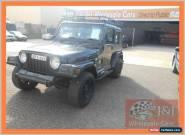 1999 Jeep Wrangler TJ Sport (4x4) Black Automatic 3sp A Hardtop for Sale