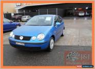 2005 Volkswagen Polo 9N Match Blue Manual 5sp M Hatchback for Sale
