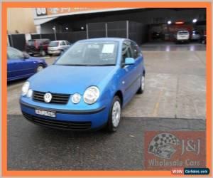 Classic 2005 Volkswagen Polo 9N Match Blue Manual 5sp M Hatchback for Sale