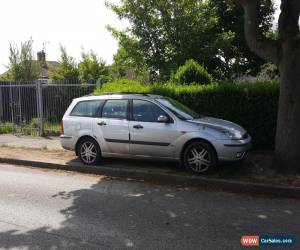 Classic 2002 FORD FOCUS ZETEC SILVER for Sale