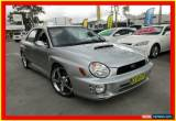 Classic 2002 Subaru Impreza S MY02 WRX Silver Automatic 4sp A Sedan for Sale