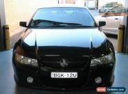 2004 Holden Commodore VZ SV6 Black Automatic 5sp A Sedan for Sale