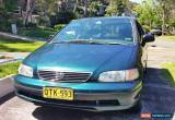 Classic Honda Odyssey 7 Seater 1997 4D Wagon Automatic Auto for Sale
