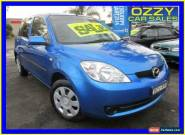 2007 Mazda 2 DE Neo Blue Manual 5sp M Hatchback for Sale