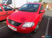 Volkswagen Fox, 1.2, 3 Door, Red - Long MOT for Sale