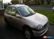 2000 VAUXHALL CORSA CLUB 12V SILVER for Sale