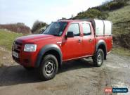 2007 FORD RANGER D/C 4WD RED for Sale