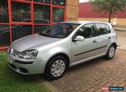 2004 VOLKSWAGEN GOLF S SILVER 5 door hatchback  for Sale