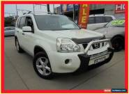 2010 Nissan X-Trail T31 MY10 ST White Manual 6sp M Wagon for Sale