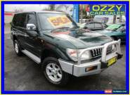 1998 Toyota Landcruiser Prado VZJ95R GXL (4x4) Green Automatic 4sp A Wagon for Sale