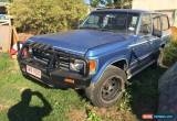 Classic Toyota landcruiser Wagon G Pack 1985 Petrol/gas 5 Speed Has Rust 4x4 Runs Drives for Sale