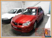 2007 Subaru Impreza MY07 2.0I (AWD) Burgundy Manual 5sp M Hatchback for Sale