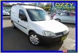 Classic 2004 Holden Combo XC White Manual 5sp M Van for Sale
