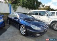2003 Peugeot 607 Blue Automatic 4sp A Sedan for Sale