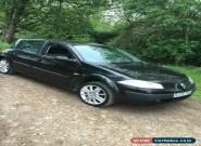 2005 RENAULT MEGANE EXPRESSION 16V BLACK for Sale
