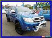 2009 Toyota Hilux KUN26R 08 Upgrade SR5 (4x4) Blue Manual 5sp M Extracab for Sale
