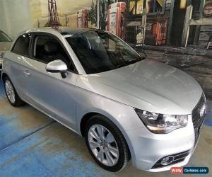 Classic 2012 Audi A1 8X MY12 Ambition Silver Manual 6sp M Hatchback for Sale
