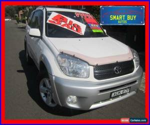 Classic 2005 Toyota RAV4 ACA23R Cruiser (4x4) White Manual 5sp M Wagon for Sale
