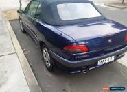 Peugeot 306 (1998) 2D Cabriolet Automatic (2L - Multi Point F/INJ) for Sale