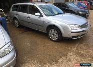 2004 FORD MONDEO LX TDCI SILVER for Sale