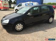 2007 VOLKSWAGEN GOLF FSI S BLACK - **** 1 Years MOT **** for Sale