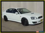2001 Subaru Liberty MY02 B4 White Manual 5sp M Sedan for Sale