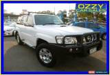Classic 2013 Nissan Patrol GU Viii ST (4x4) White Automatic 4sp A Wagon for Sale