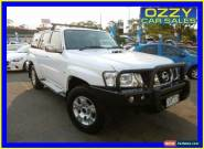 2013 Nissan Patrol GU Viii ST (4x4) White Automatic 4sp A Wagon for Sale