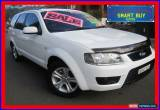 Classic 2010 Ford Territory SY Mkii TX (RWD) White Automatic 4sp A Wagon for Sale
