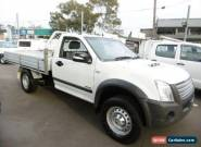 2008 Holden Rodeo RA MY08 LX (4x4) White Manual 5sp M Cab Chassis for Sale