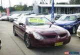 Classic 2003 Mitsubishi Magna TJ Sports Red Automatic 5sp A Sedan for Sale