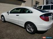 Mercedes-Benz C180 Kompressor Sports Coupe 6 Speed Supercharged for Sale