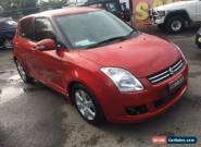 2009 Suzuki Swift EZ 07 Update S Red Automatic 4sp A Hatchback for Sale