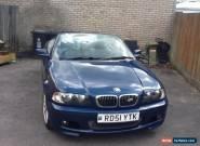 2001 BMW 325 CI SPORT BLUE for Sale