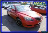 Classic 2004 Mazda 3 BK Neo Red Manual 5sp M Hatchback for Sale