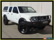 1998 Nissan Navara D22 DX (4x4) White Manual 5sp M Dual Cab Pick-up for Sale