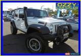 Classic 2010 Jeep Wrangler JK MY09 Rubicon (4x4) White Automatic 4sp A Softtop for Sale
