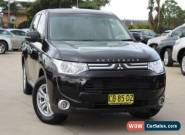 2012 Mitsubishi Outlander ZH MY12 LS (7 Seat) Black Automatic 6sp A Wagon for Sale