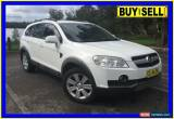 Classic 2007 Holden Captiva CG LX (4x4) White Automatic 5sp A Wagon for Sale