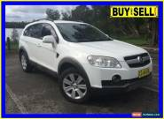 2007 Holden Captiva CG LX (4x4) White Automatic 5sp A Wagon for Sale