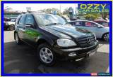 Classic 2003 Mercedes-Benz ML W163 350 (4x4) Black Automatic 5sp A Wagon for Sale