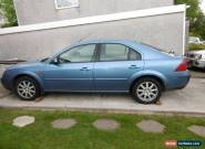 2002 FORD MONDEO ZETEC TDCI BLUE Spares or repair for Sale