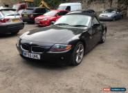 2005 BMW Z4 SE ROADSTER BLACK CONVERTIBLE SPARES OR REPAIR for Sale