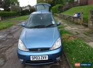 2003 FORD FOCUS GHIA TDCI BLUE for Sale