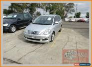 2006 Toyota Avensis ACM21R Verso GLX Silver Automatic 4sp A Wagon for Sale