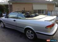 2002 Saab 93 anniversary convertible for Sale